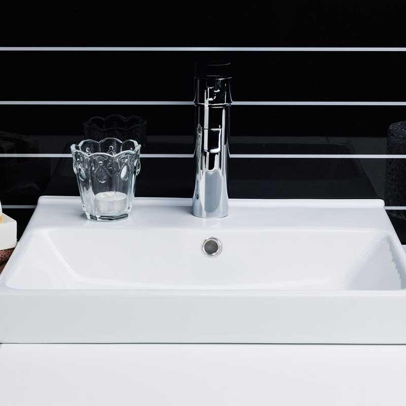 Tvättställ Noro Touch-Day-Look-Alice-Sea 420 mm