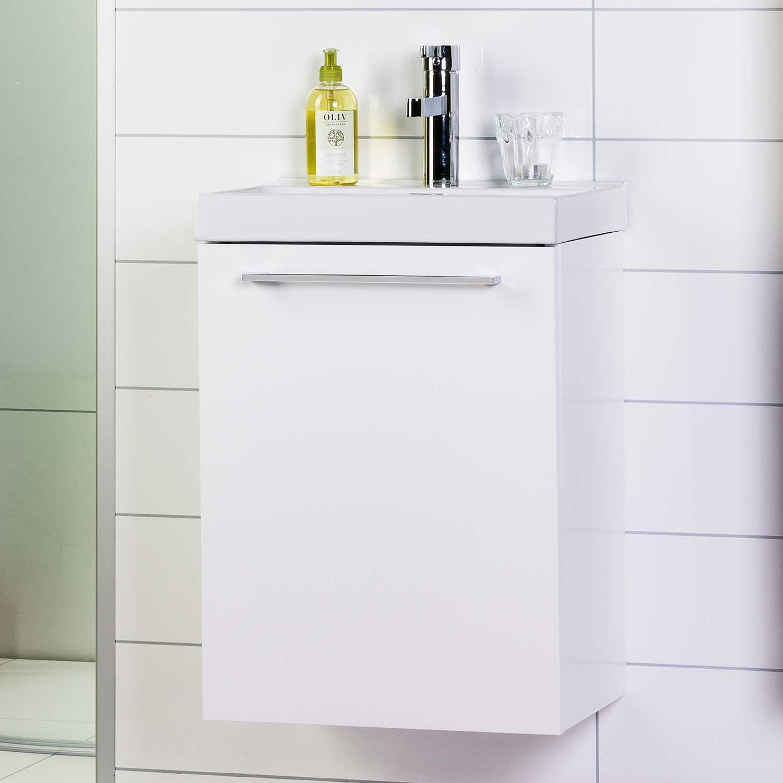 Tvättställsskåp Noro Look 420 Vit
