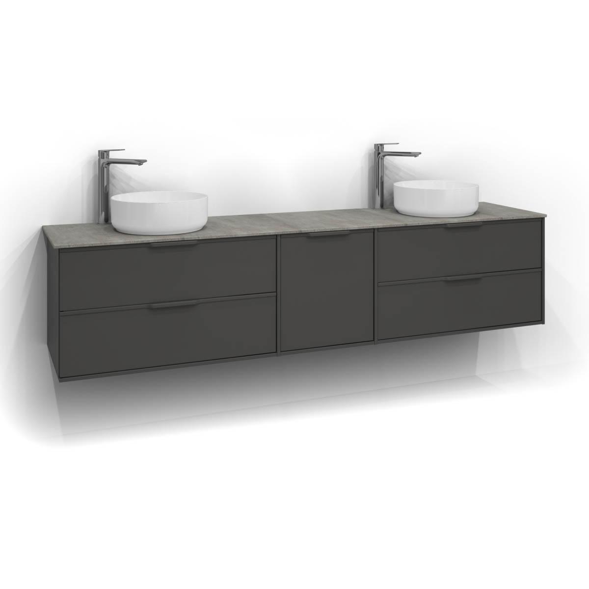 Tvättställsskåp Svedbergs Epos 200x45
