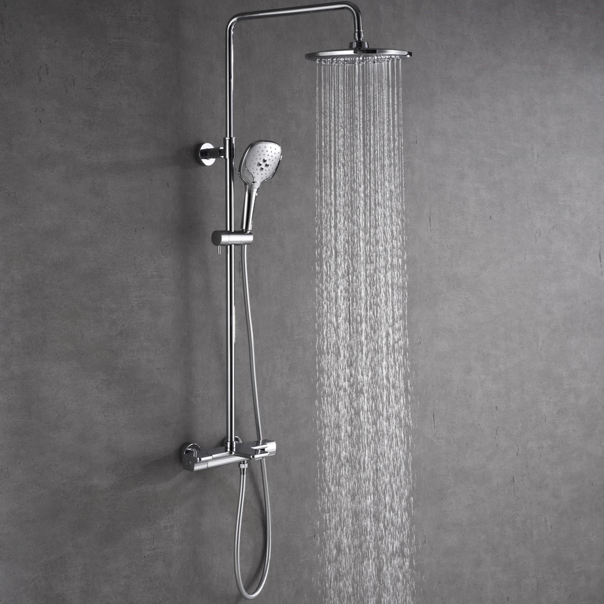 Takduschset Bathlife Välla med Badkarsblandare