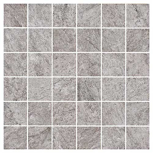 Klinker Bricmate D0505 Quartzit Grey 5x5 cm