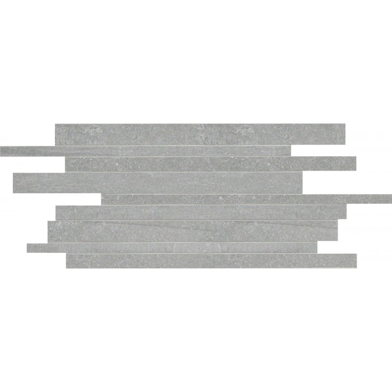 Mosaik Keope Back Silver Strips 30×60 cm