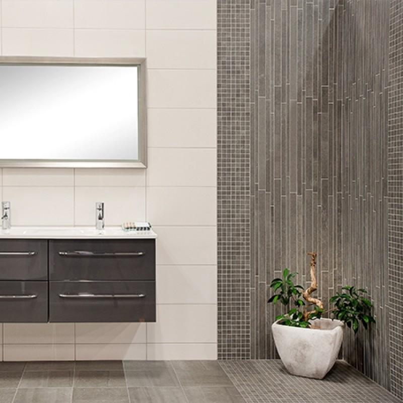 Mosaik Keope Back Grey Strips 30×60 cm