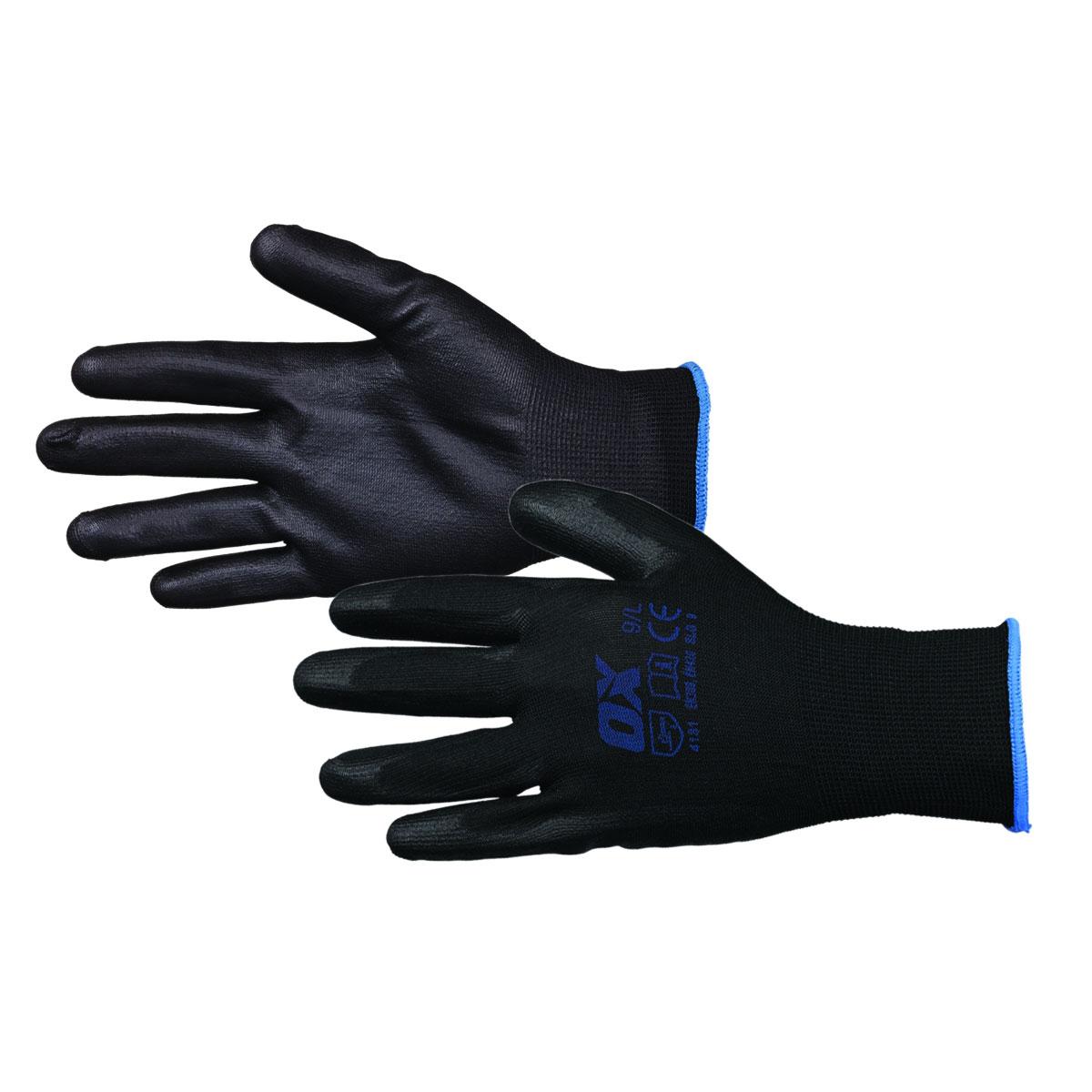 Handskar PU-doppade OX Tools