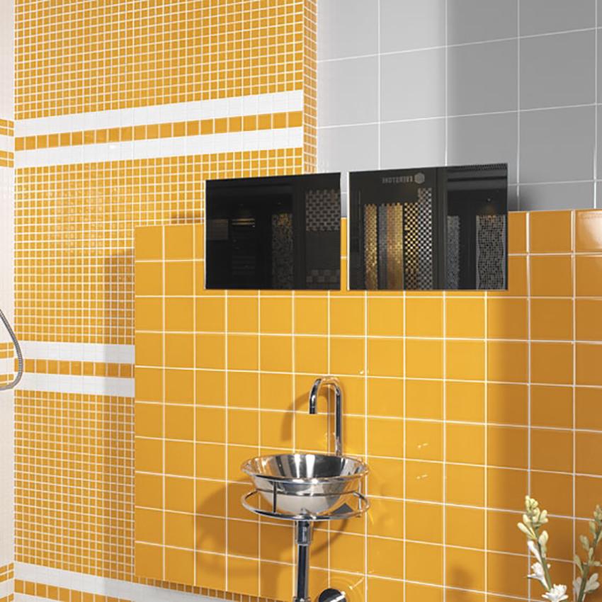 Kakel Arredo Color Ocre Blank 10×10 cm