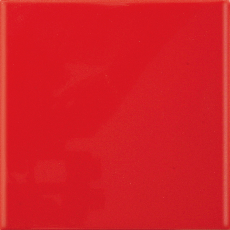 Kakel Arredo Color Rojo Cristalina Matt 20×20 cm