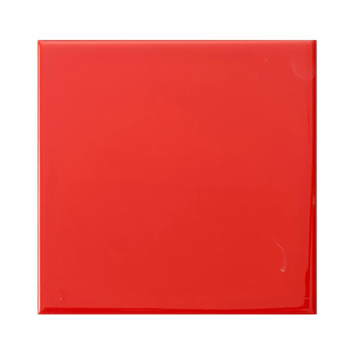 Kakel Arredo Color Rojo Liso Brillo 15×15 cm