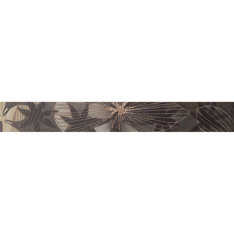 Kakel Arredo Elvana Nero List 5x40 cm