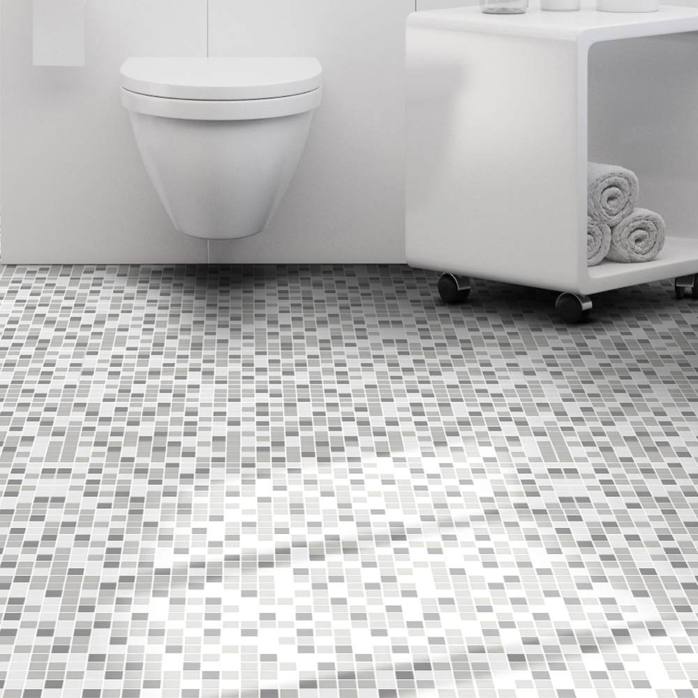Klinkermosaik Arredo Titan Mix Grey Matt 3×3 cm