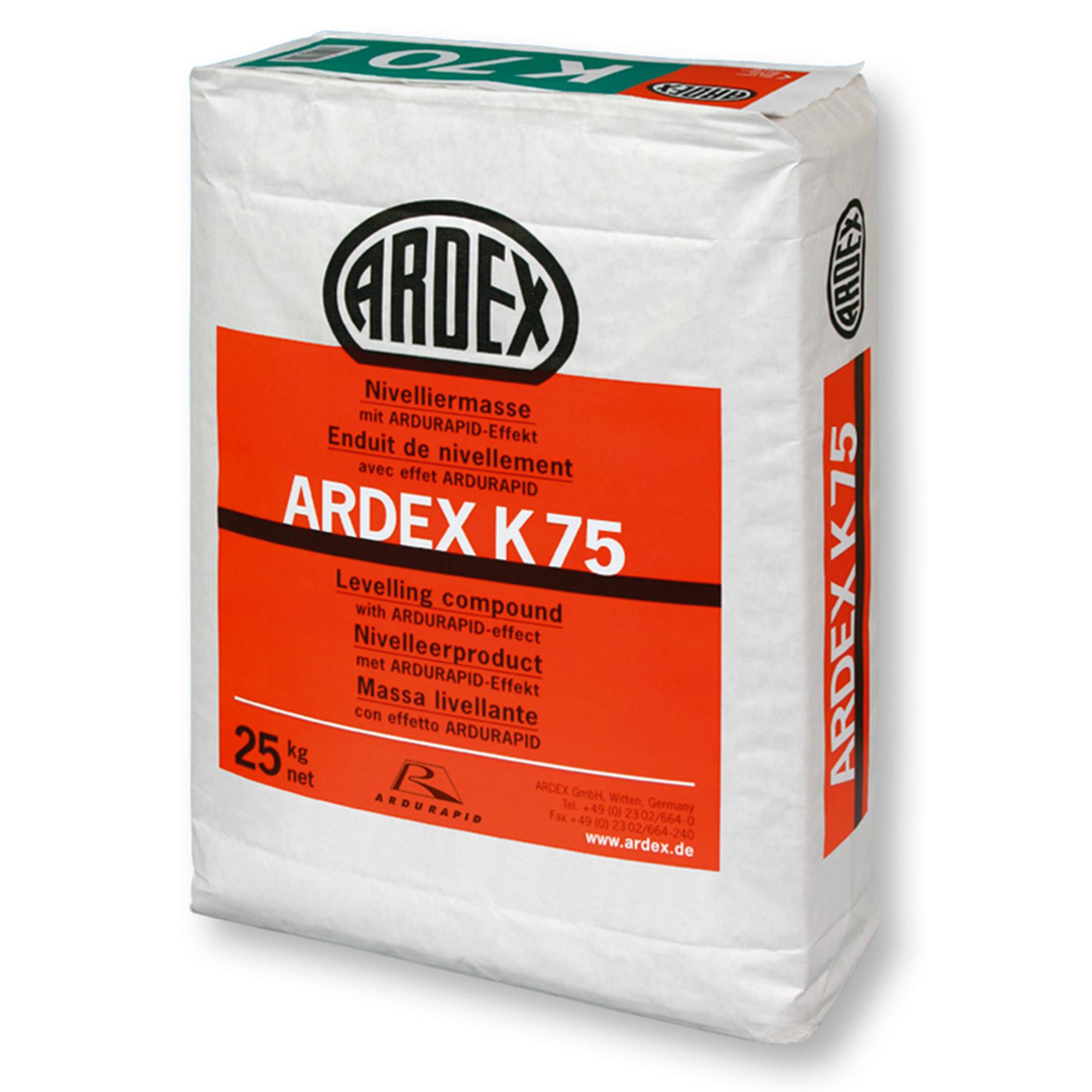 Avjämningsmassa Ardex K75 25 kg