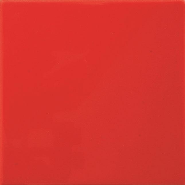 Kakel Arredo Color Rojo Matt 10x10 cm