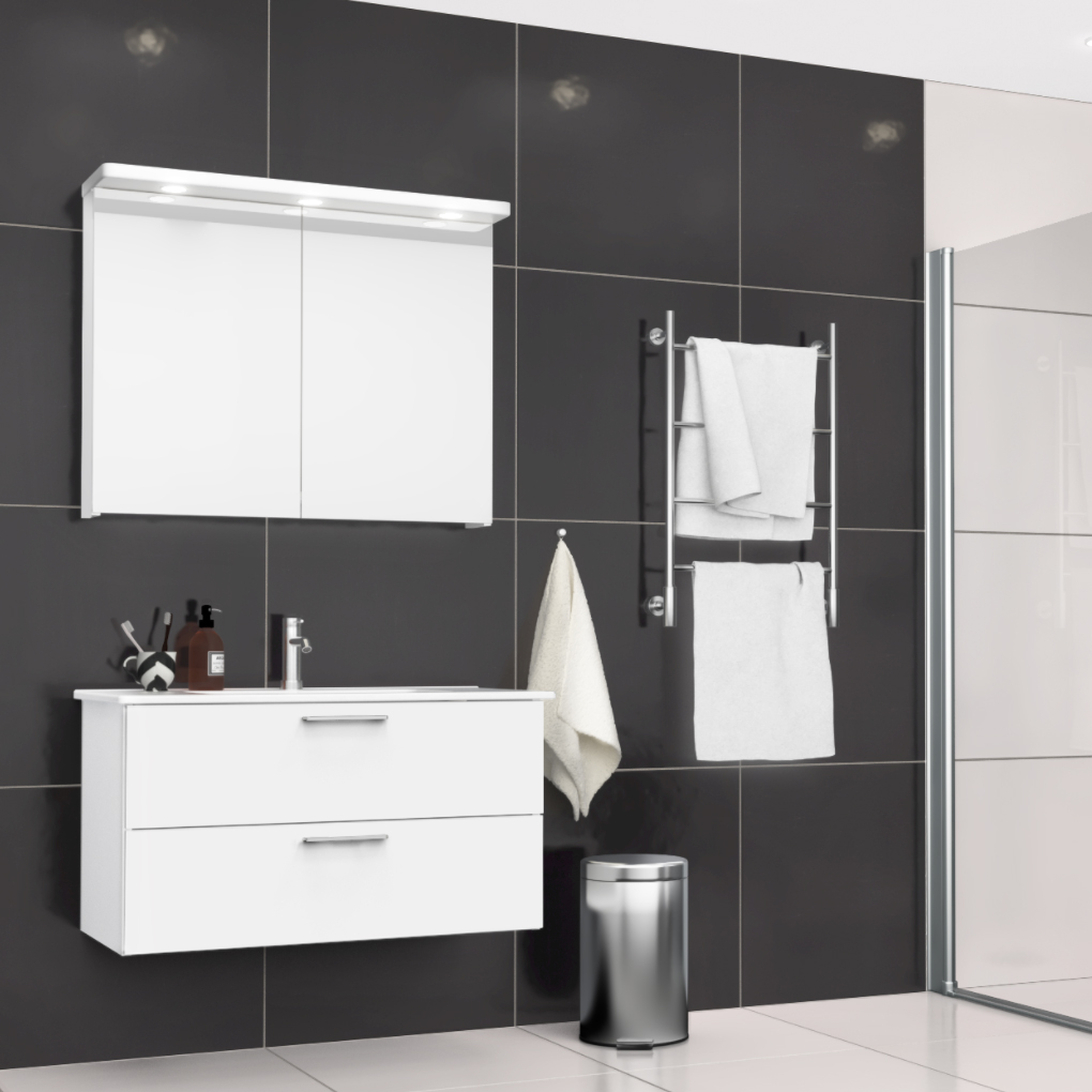 Klinker Arredo Fojs Collection Black Glossy 60x60 cm