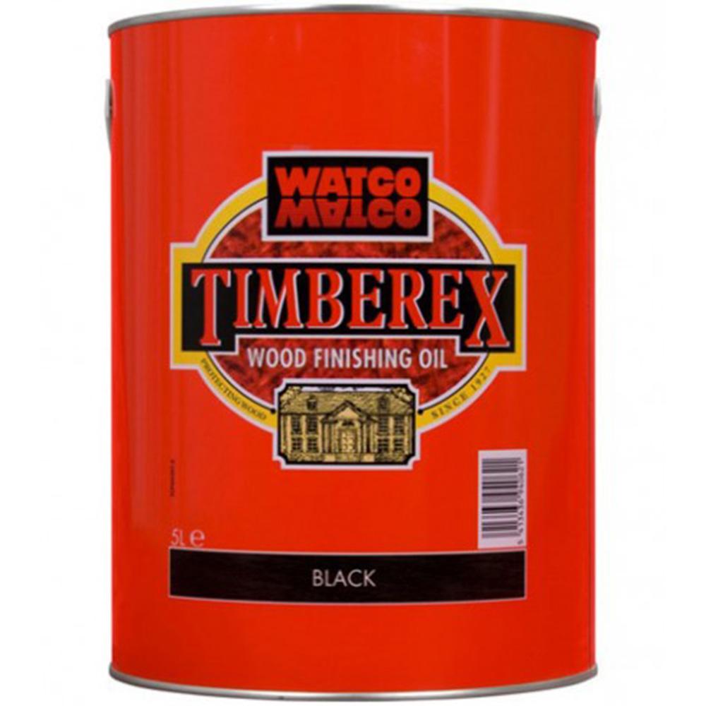 Underhållsolja Timberex Black Walnut 1 l