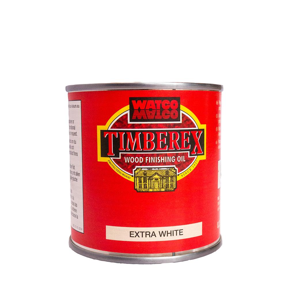 Underhållsolja Timberex Extra White 0,2 l