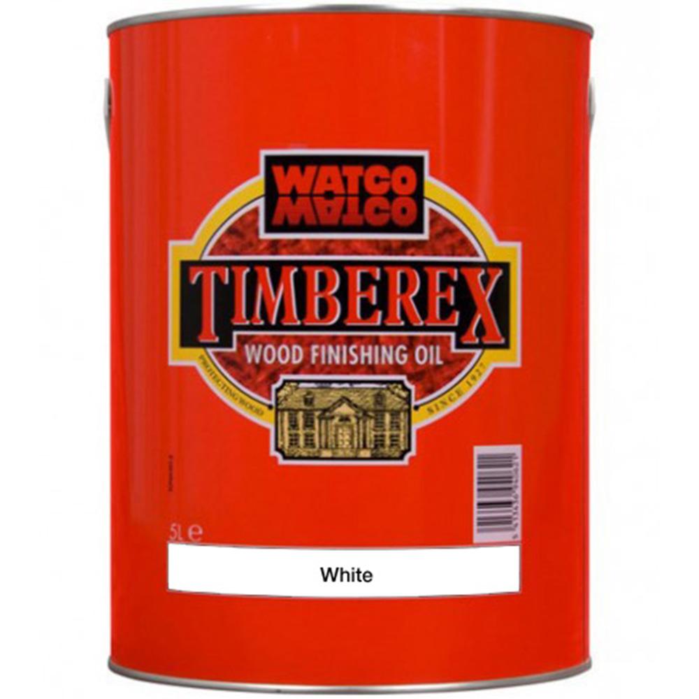 Underhållsolja Timberex White 5 l