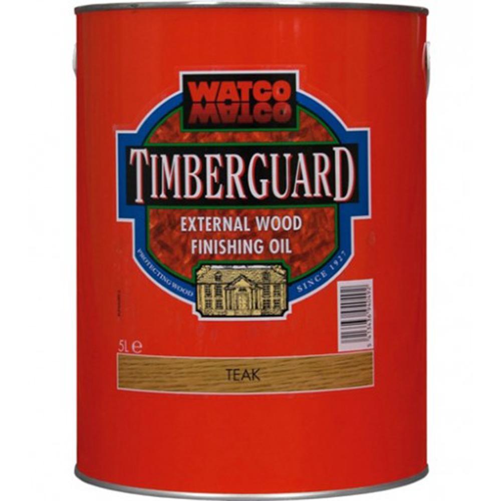 Underhållsolja Timberex Timberguard Teak 1 l