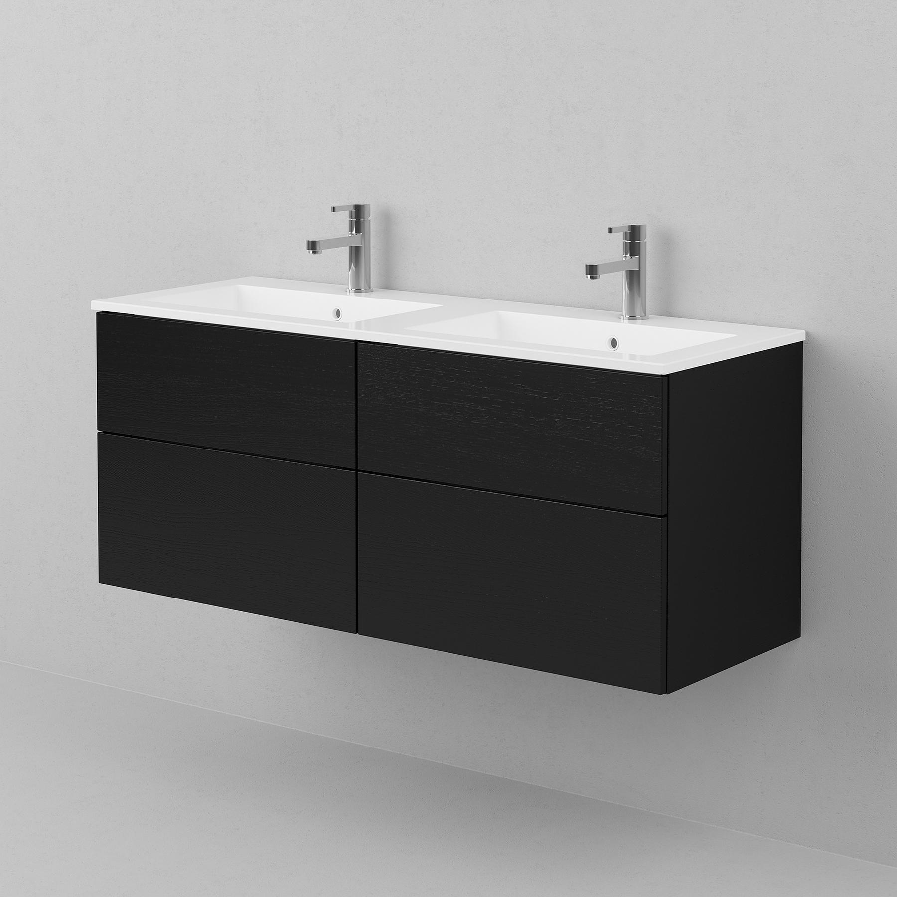 Tvättställsskåp INR Viskan Solid 1200 Dubbel