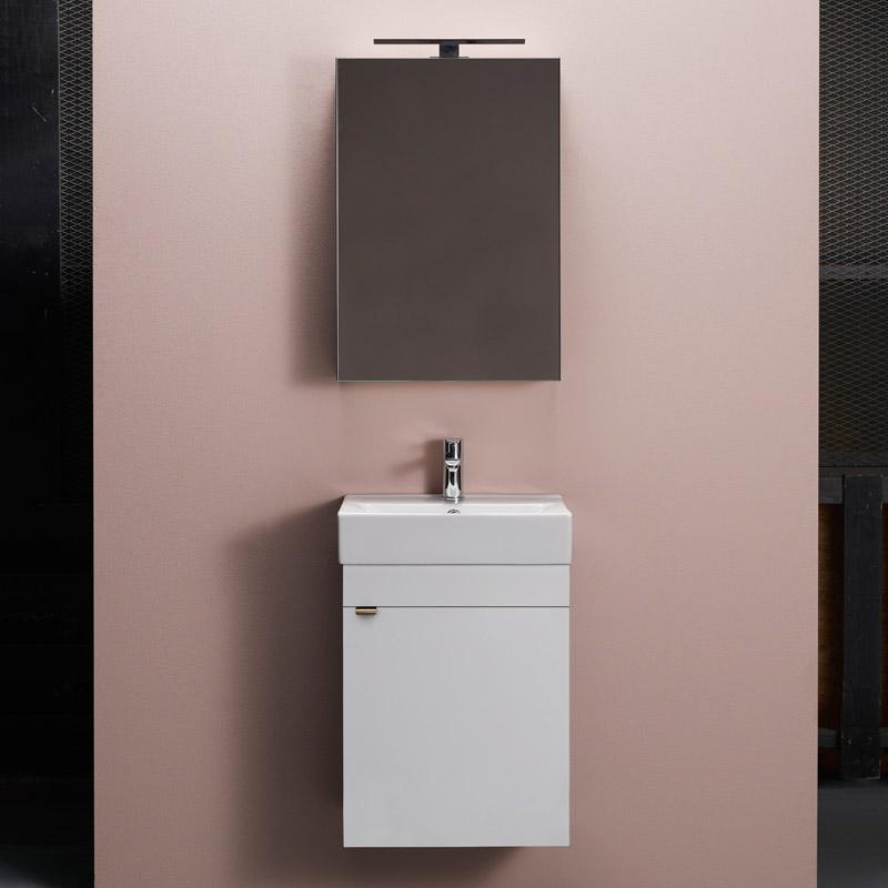 Möbelpaket Hafa Go med Spegelskåp 450