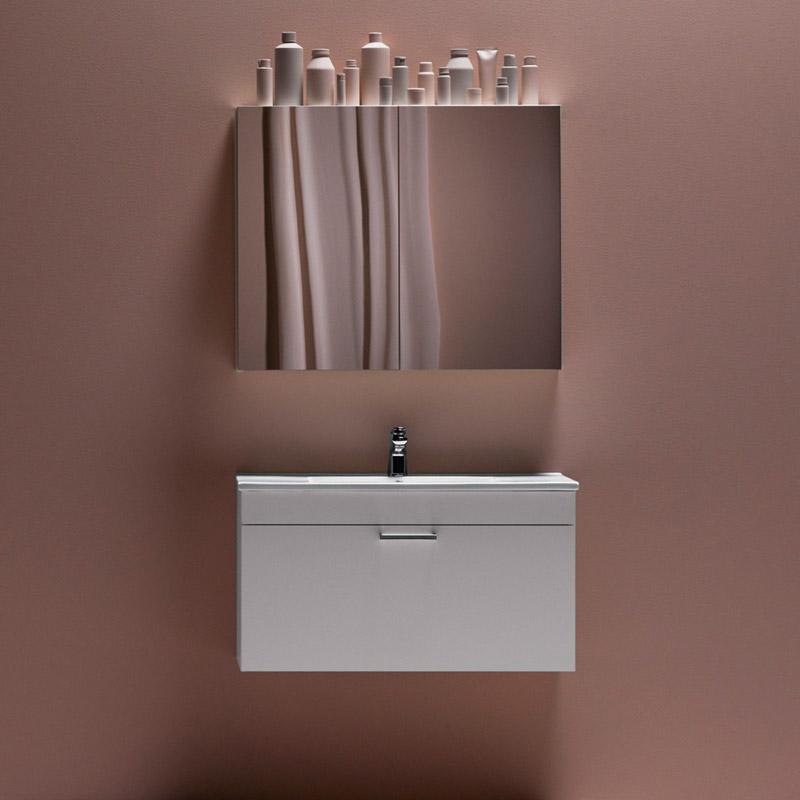 Möbelpaket Hafa Go med Spegelskåp
