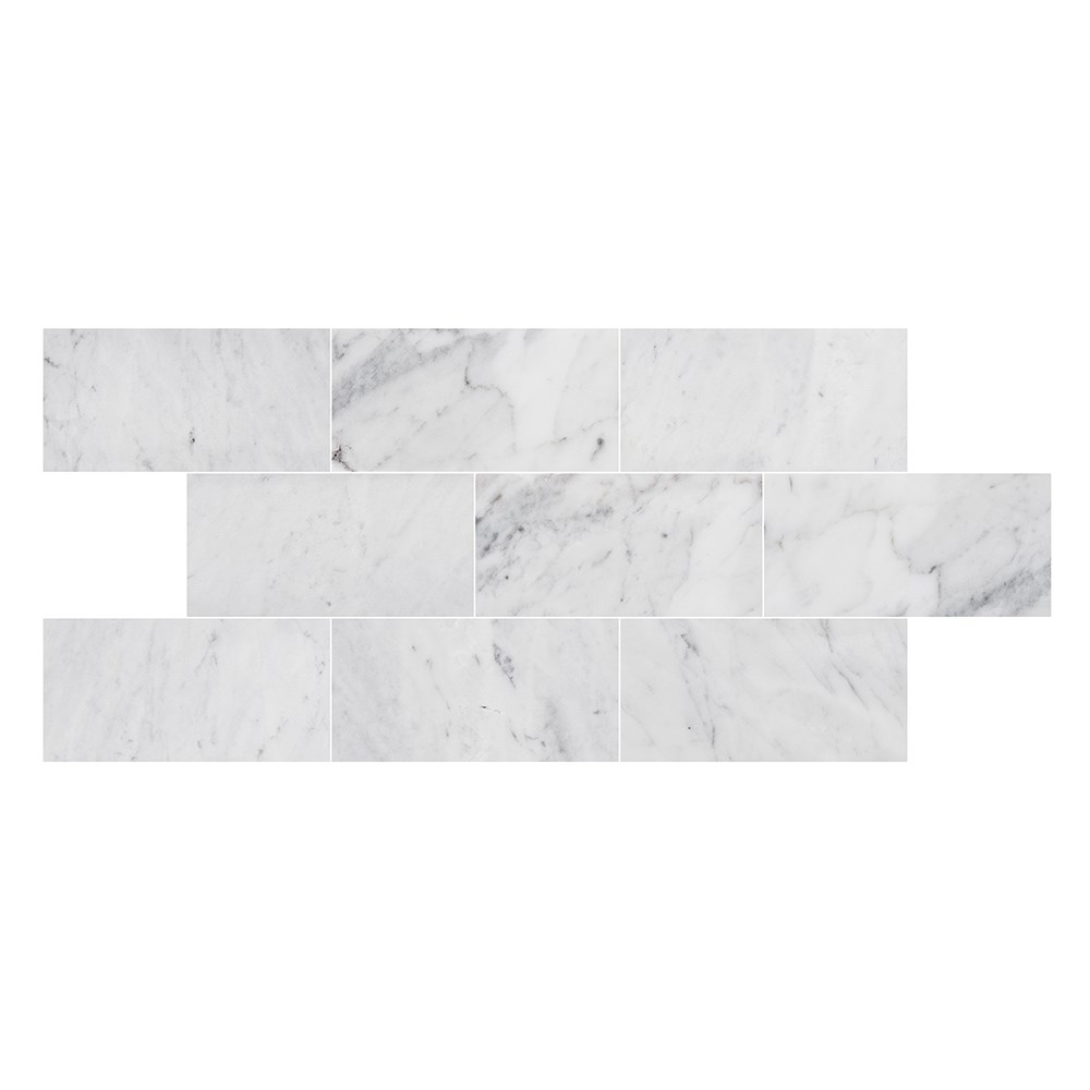 Marmor Bricmate U Brick Carrara Honed 14,8x7,3 cm