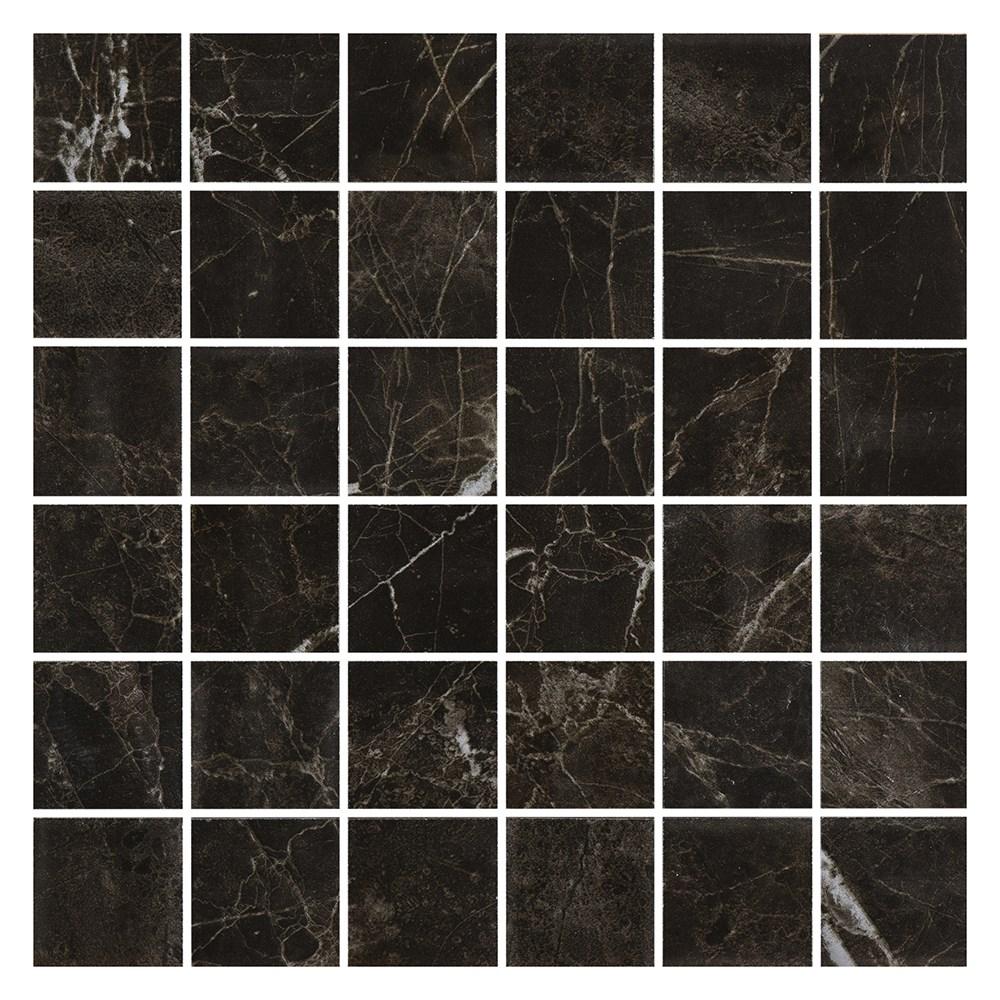 Klinker Bricmate M0505 Noir St. Laurent Honed 5×5 cm