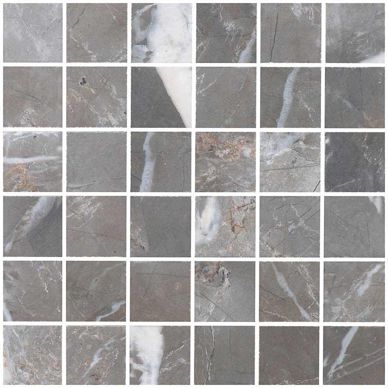Klinker Bricmate M0505 Calacatta Grey Honed 5×5 cm