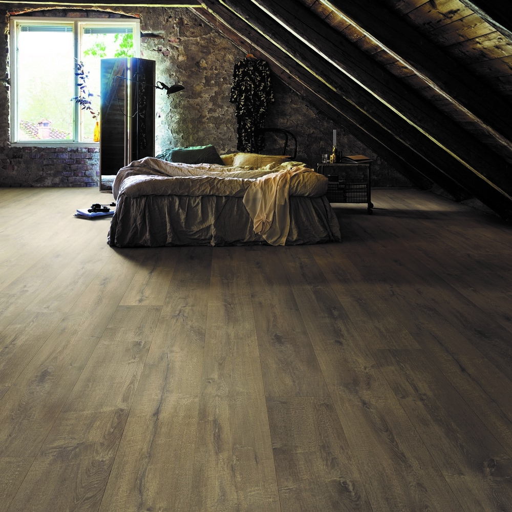 Laminatgolv Pergo Wide Long Plank 4V - Sensation Lodge Oak 1-Stav