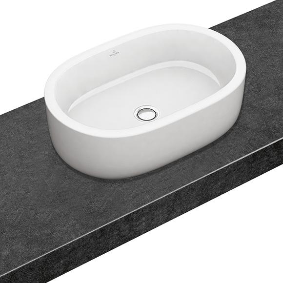 Tvättställ Villeroy & Boch Architectura Ovalt 600 mm