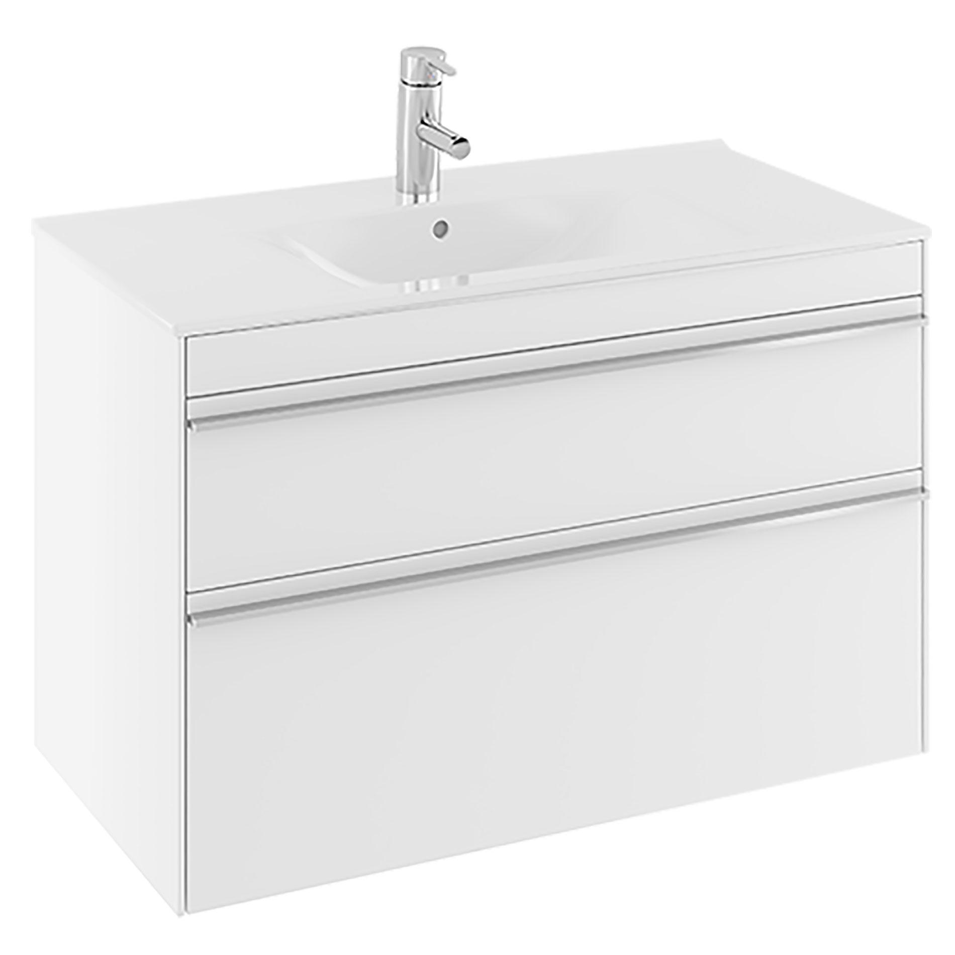 Tvättställsskåp Ifö Sense 2 Lådor Lågt Tvättställ