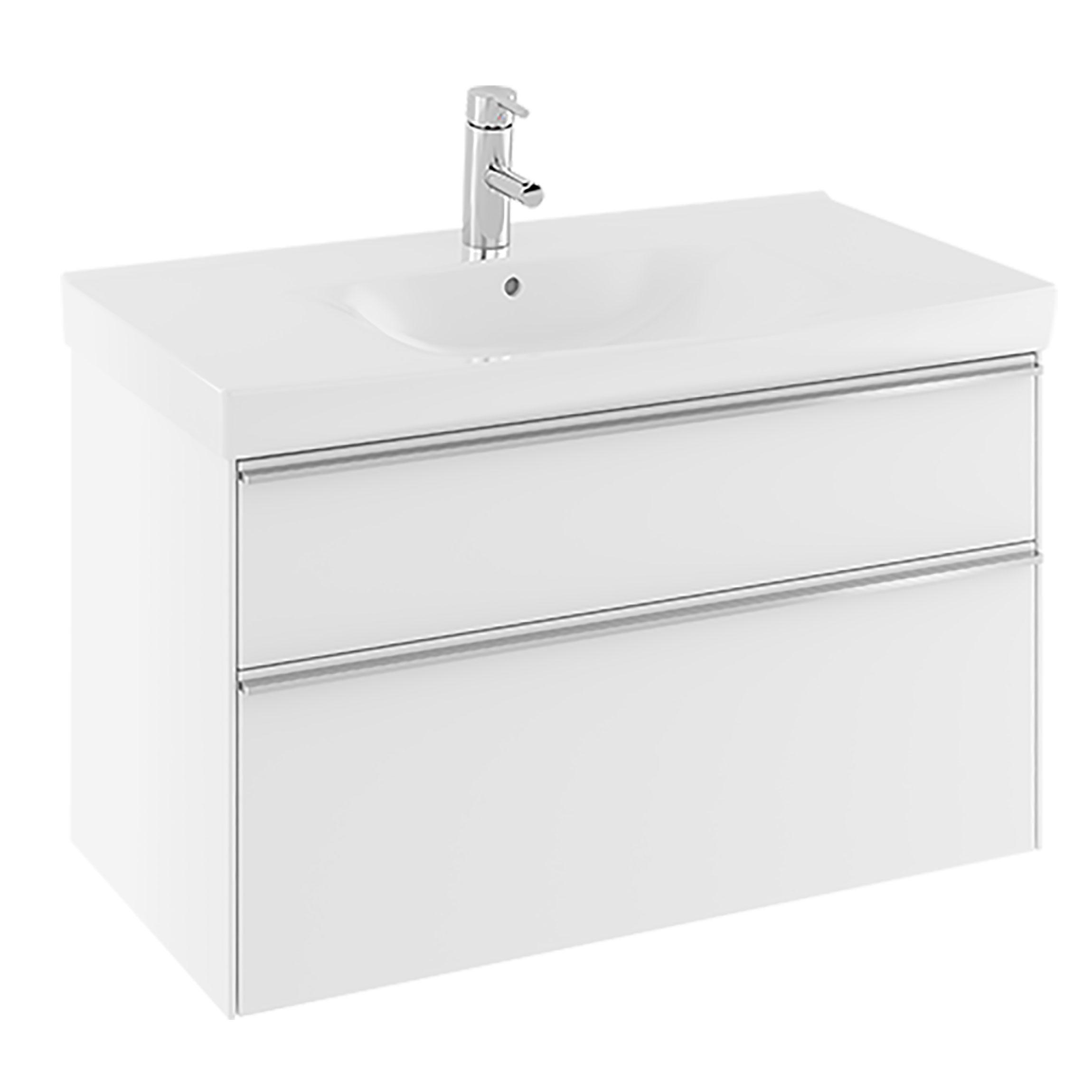 Tvättställsskåp Ifö Sense 90 2 Lådor
