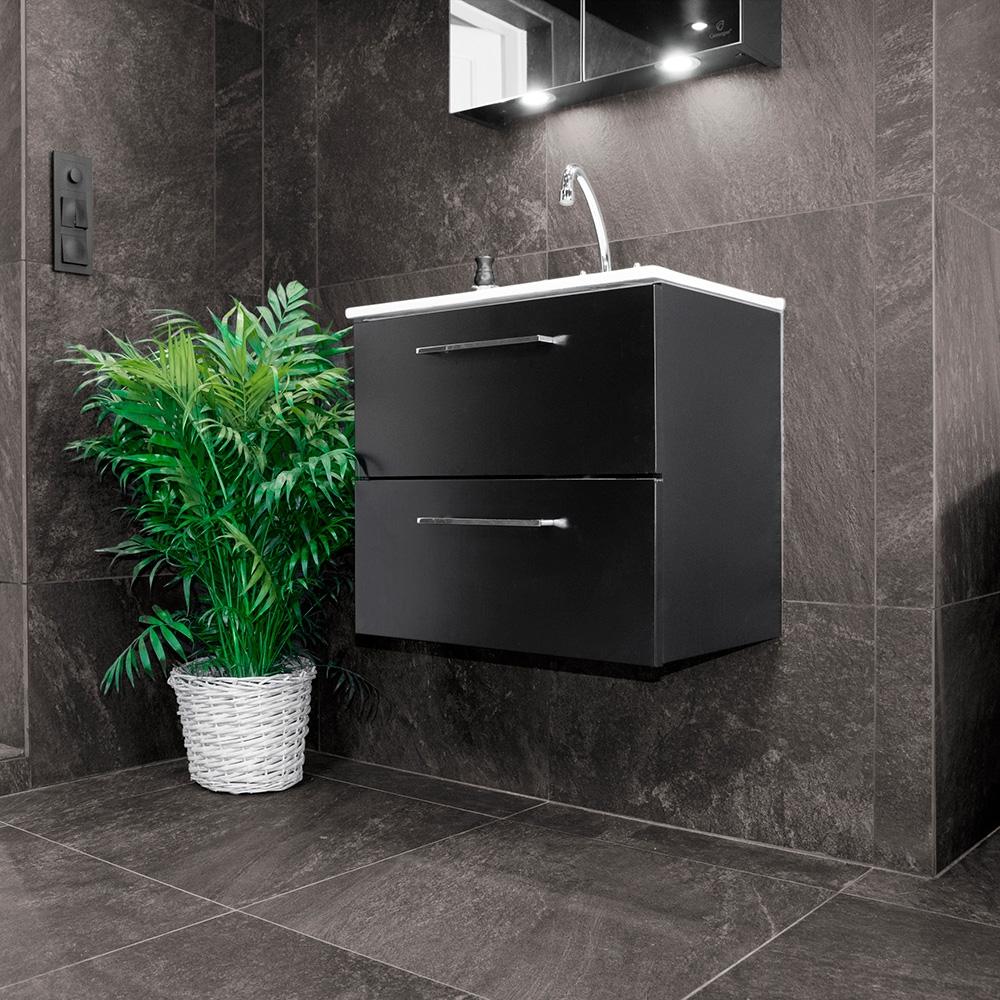 Klinker Bricmate D33 Quartzit Black 30×30 cm