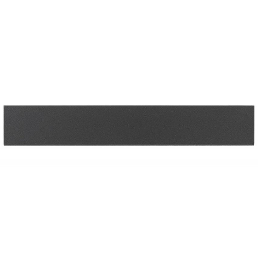 Klinker Arredo Fojs Collection Black Matt 10×60 cm Sockel