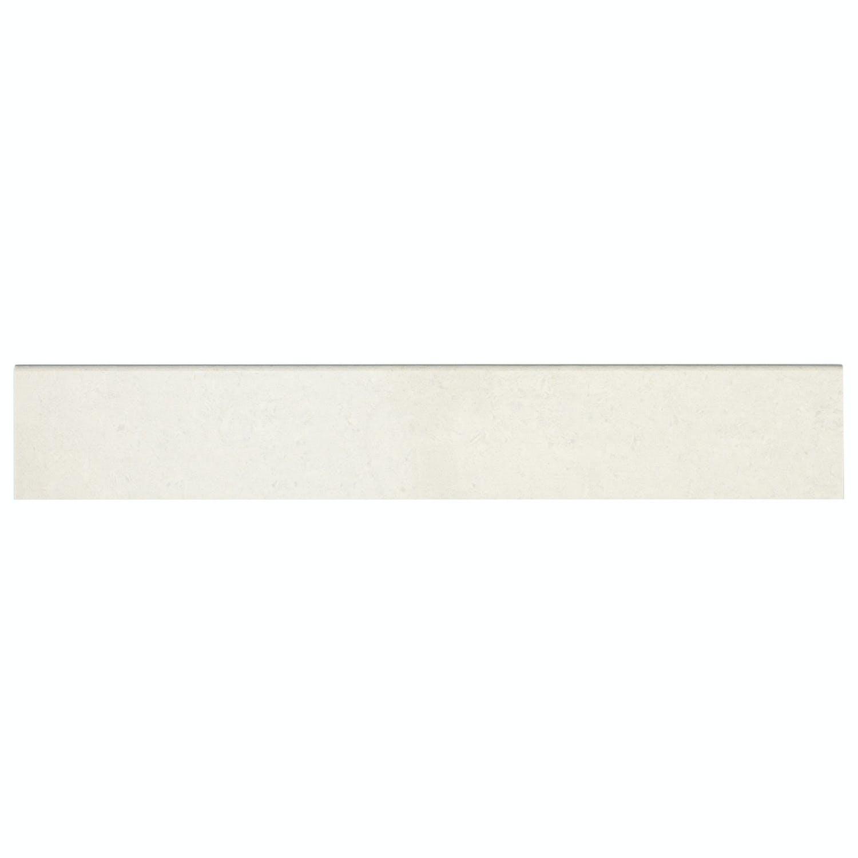 Klinker Fojs Collection Snow White Matt Sockel 9,8×60 cm