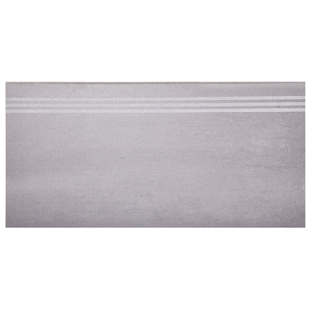 Klinker Arredo Fojs Collection Steel Matt 30×60 cm Trappsteg/Trappnos