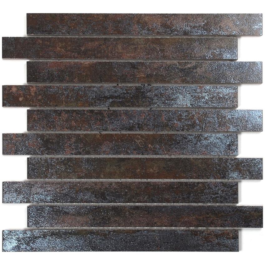 Klinkermosaik Arredo Iron Rust Brick 3×30 cm