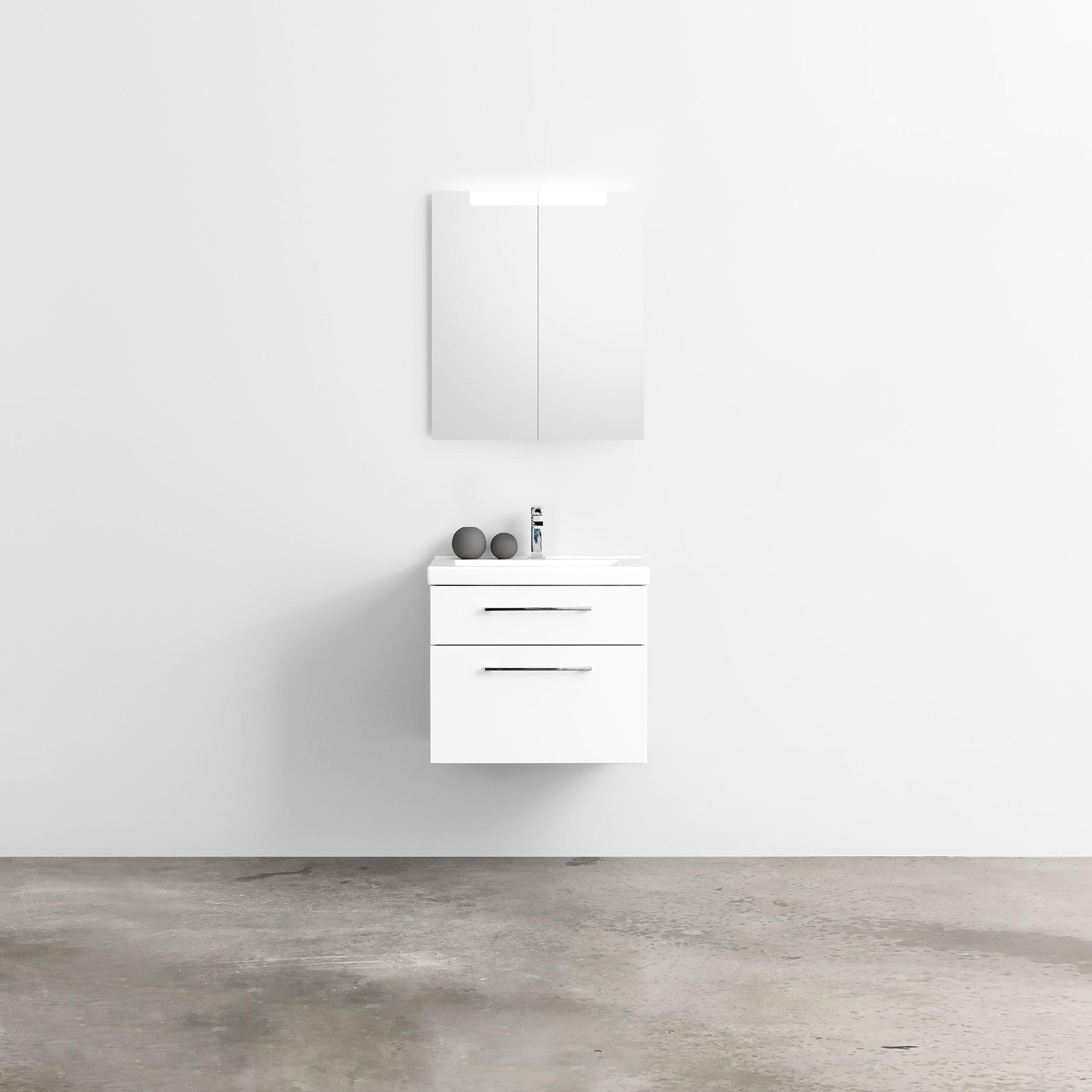 Möbelpaket INR med Spegelskåp