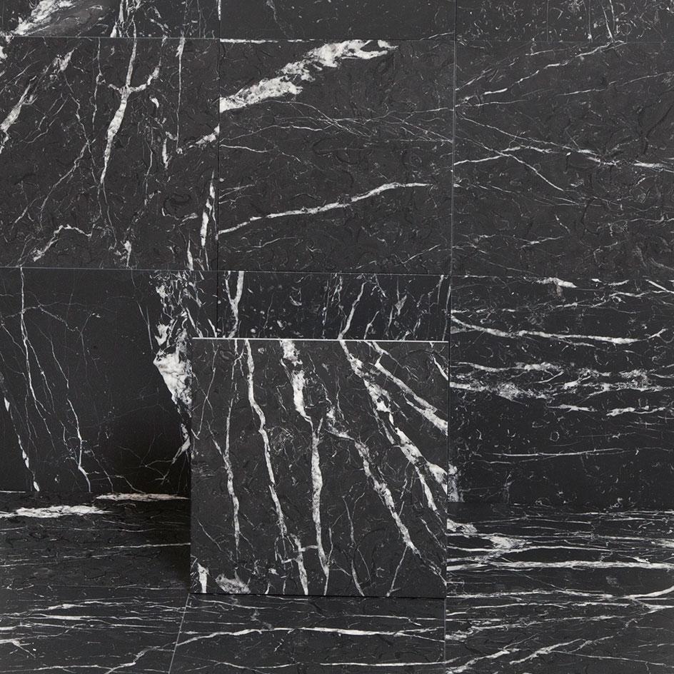 Marmor Arredo Nero Marquina Matt 15x15 cm