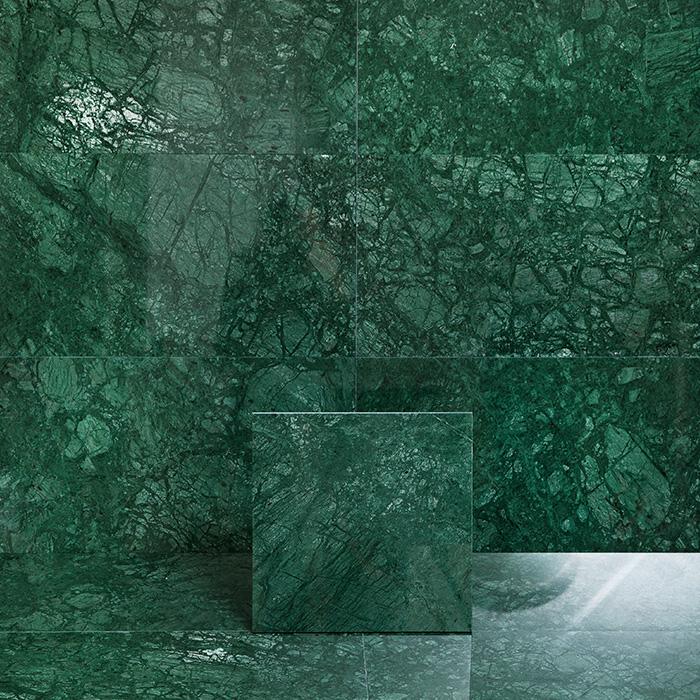 Marmor Arredo Verde Guatemala Polerad 30×30 cm