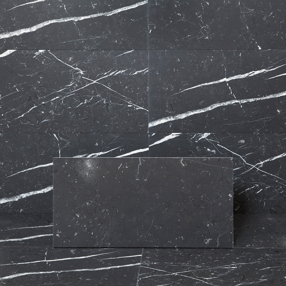 Marmor Arredo Nero Marquina Matt 30×60 cm
