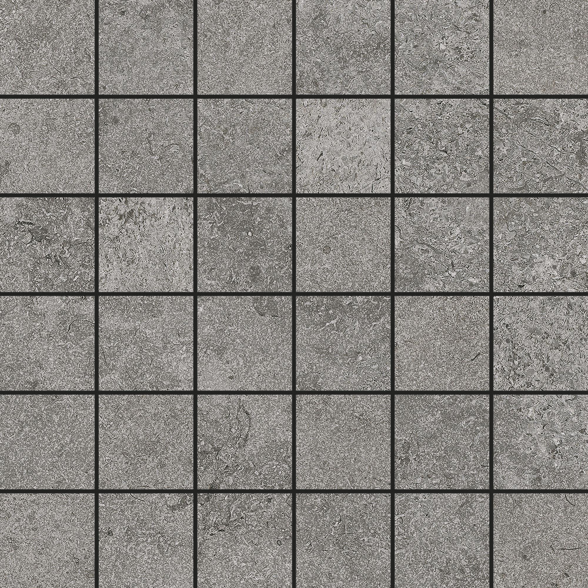 Klinkermosaik Arredo Urban Stone Grey 5x5 cm