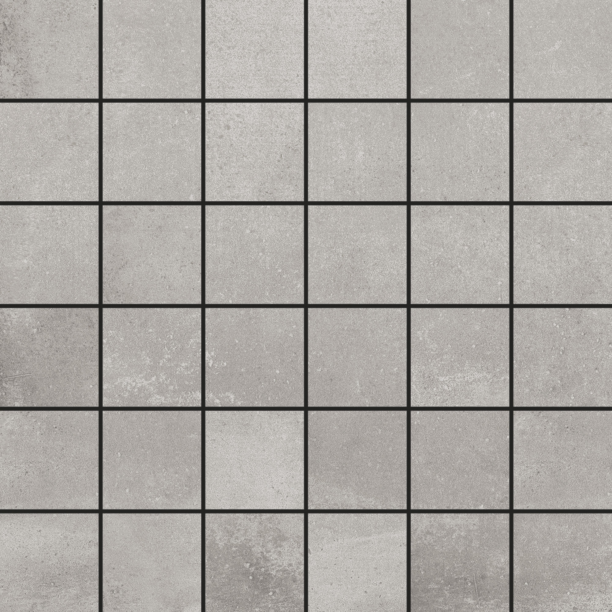 Klinkermosaik Arredo Boulevard Grey Mosaic 4,7×4,7 cm