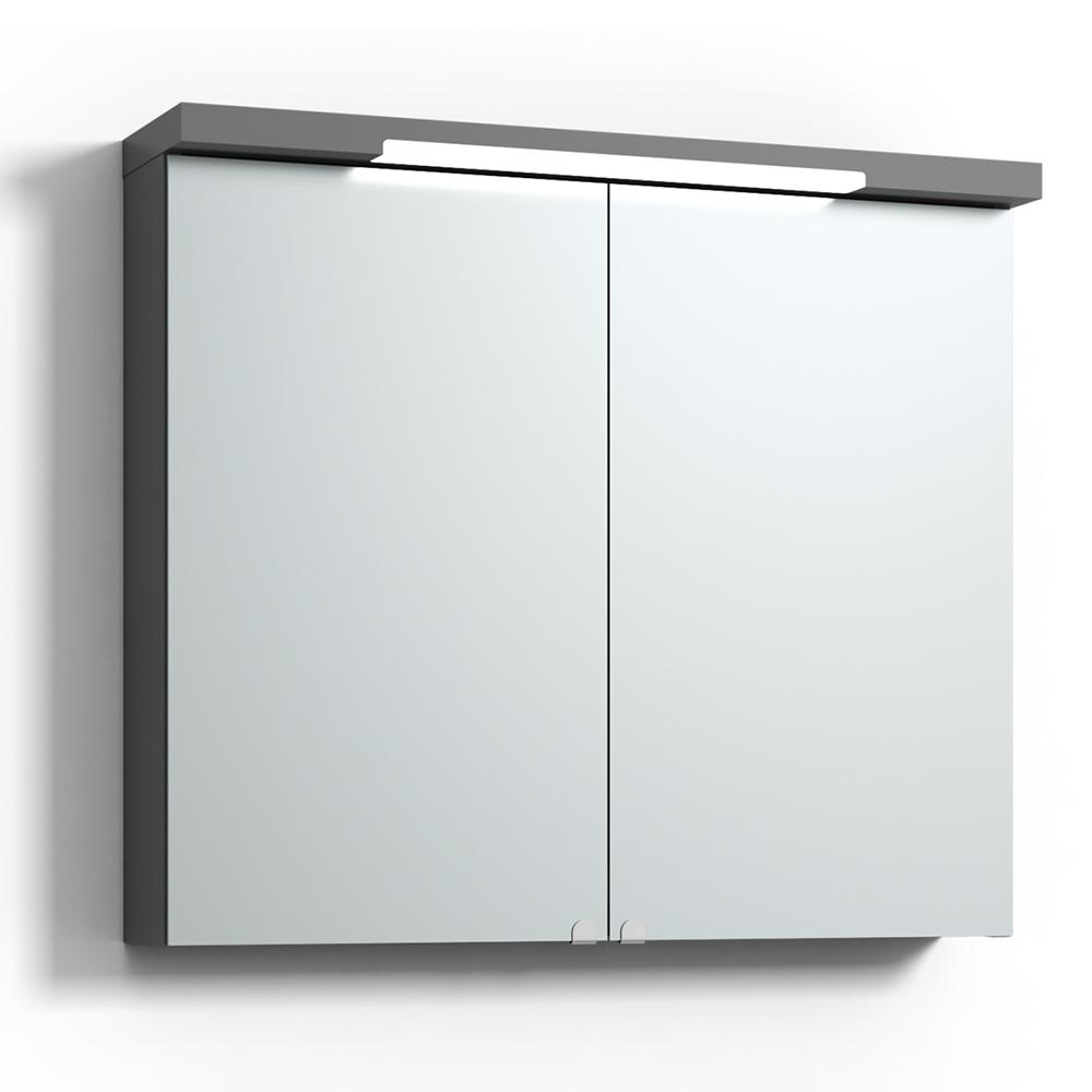 Spegelskåp Svedbergs Top-Line Grå