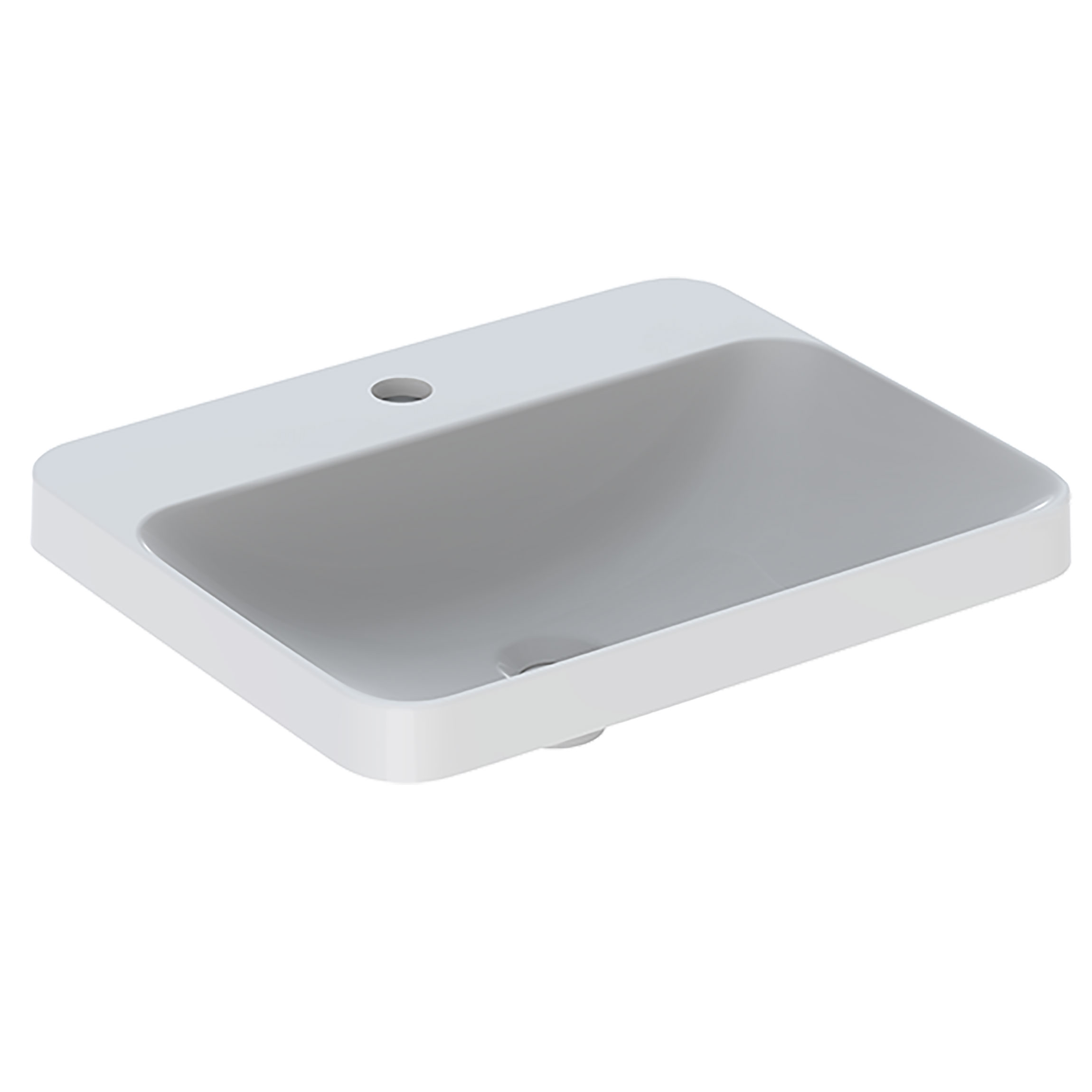 Tvättställ Geberit Variform 550 mm Infälld Rektangulärt Kanthylla