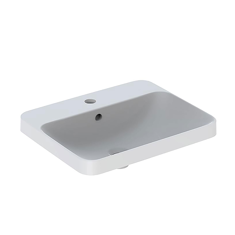 Tvättställ Ifö Variform 550 mm Infälld Rektangulärt Kanthylla
