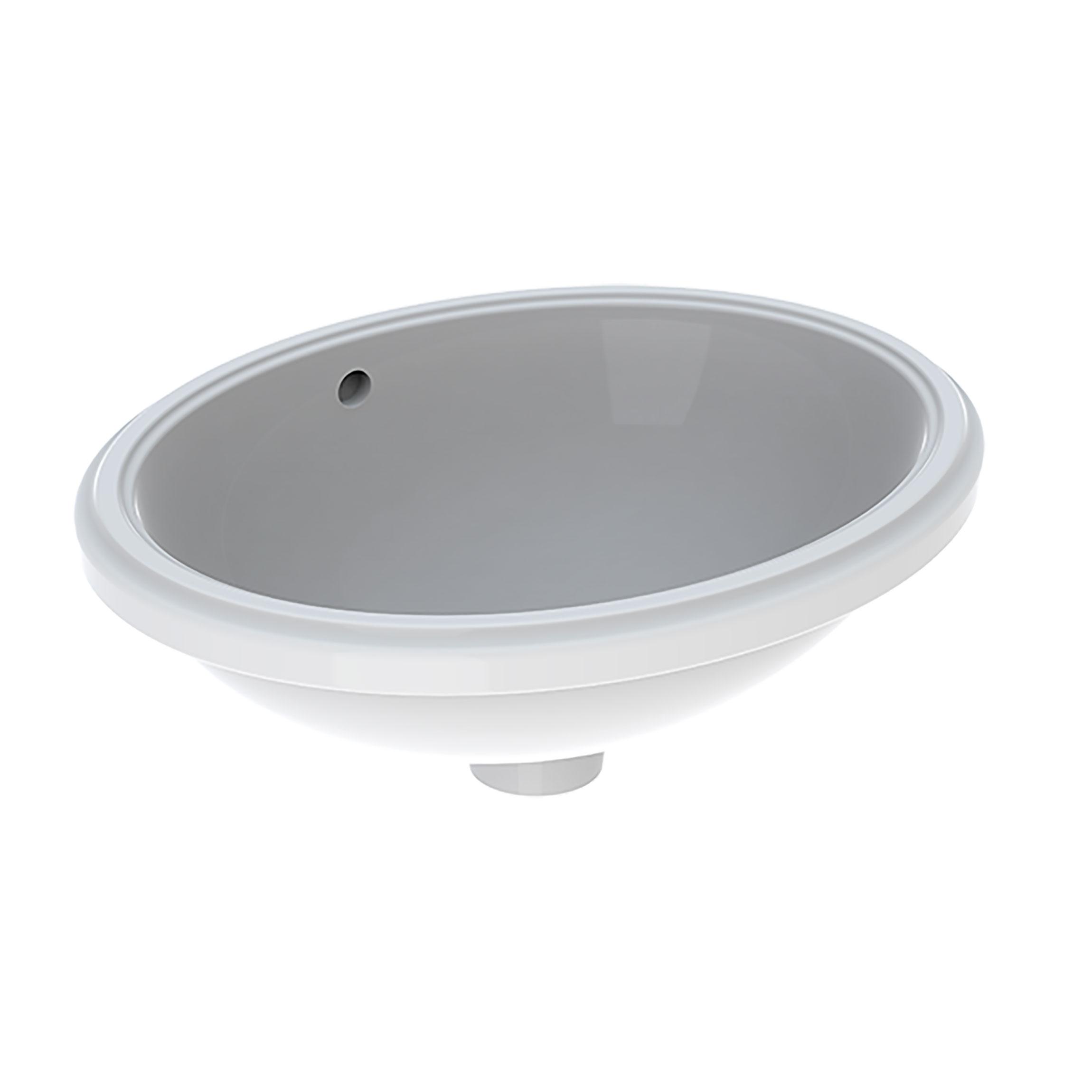 Tvättställ Ifö Variform 420 mm för underlimning Ovalt