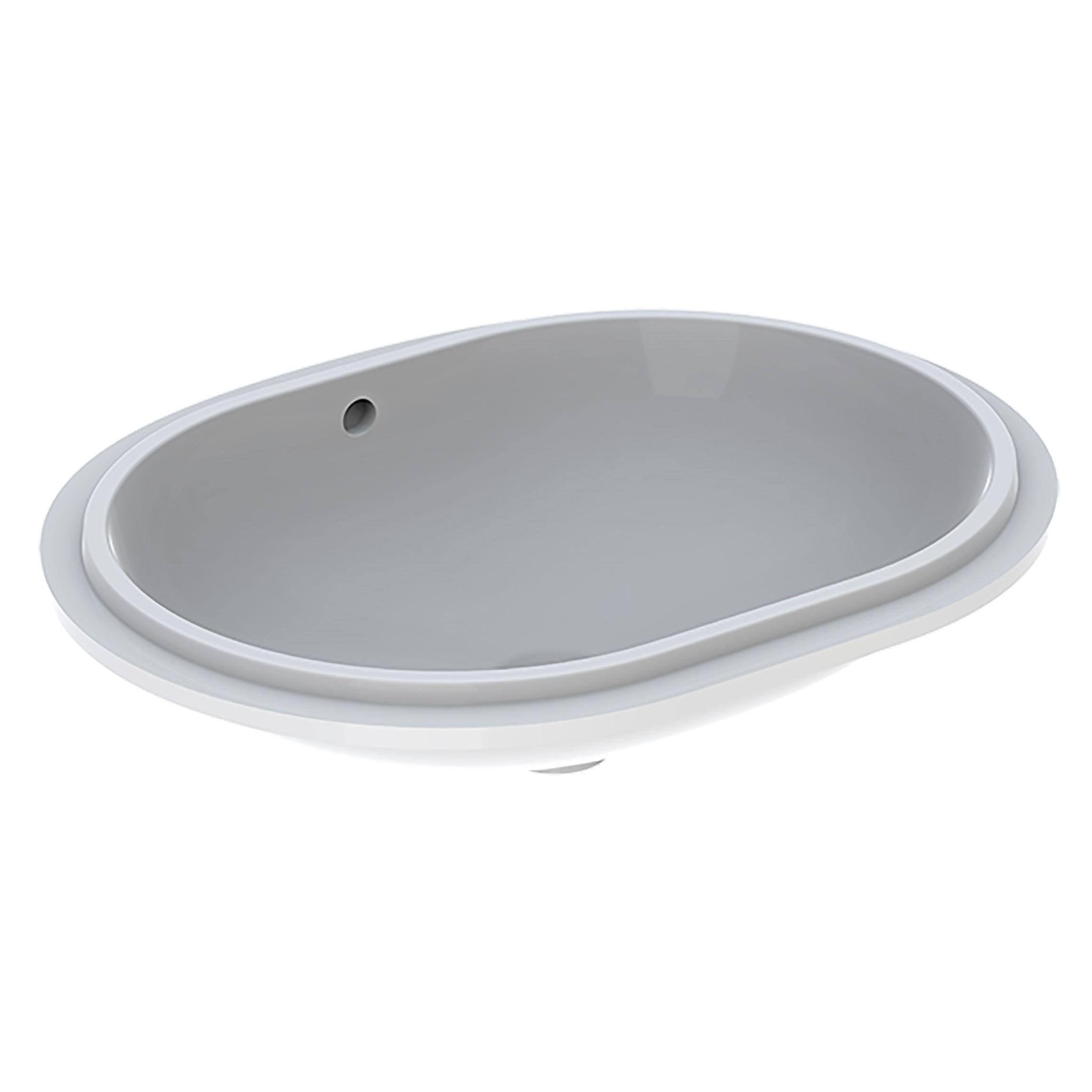 Tvättställ Ifö Variform 550 mm för underlimning Elliptiskt
