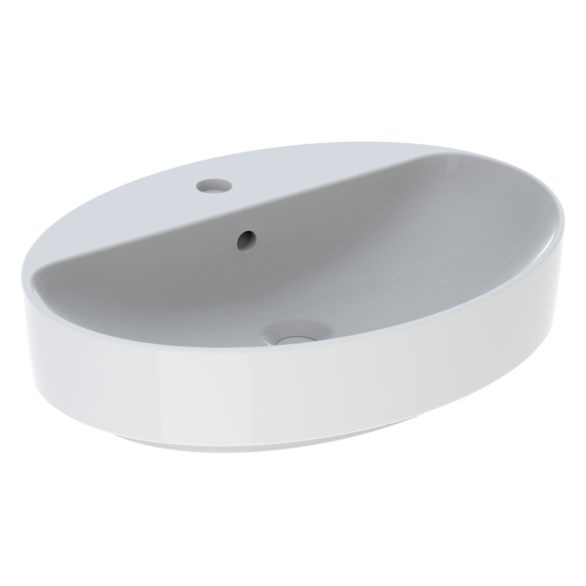Tvättställ Ifö Variform 600 mm Lay-on Ovalt Kanthylla