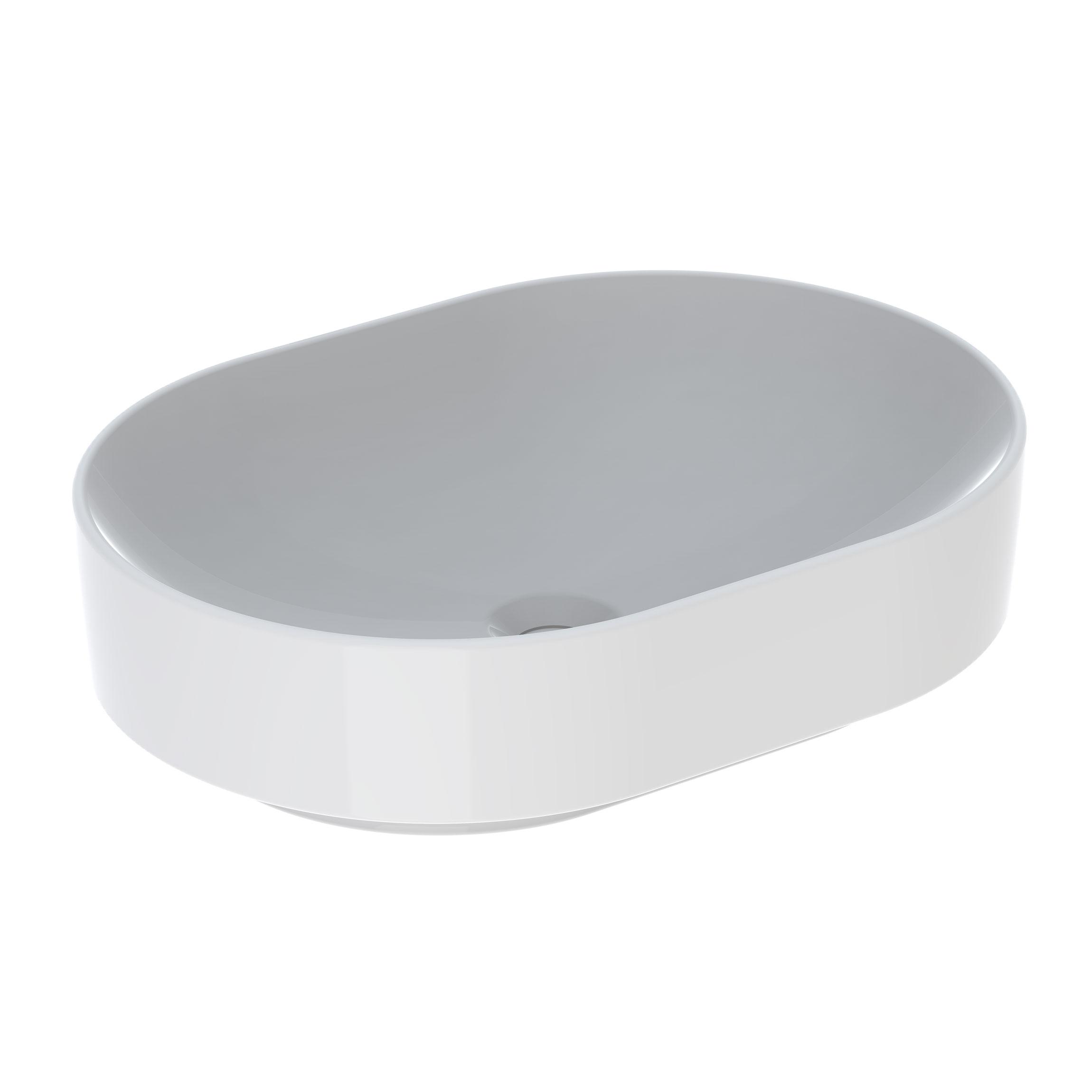 Tvättställ Ifö Variform 550 mm Lay-on Elliptiskt Utan Bräddavlopp