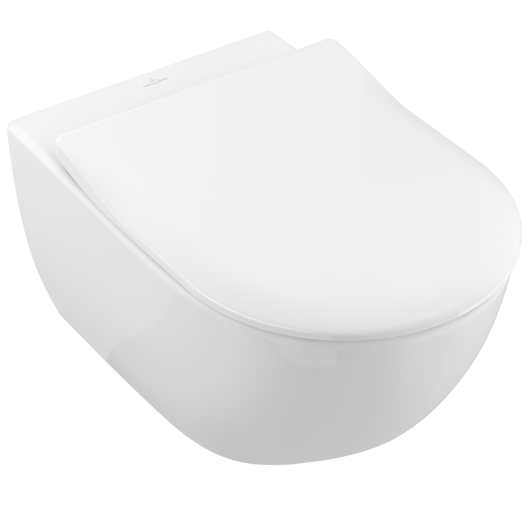 Vägghängd Toalettstol Villeroy & Boch Subway 2.0 med DirectFlush