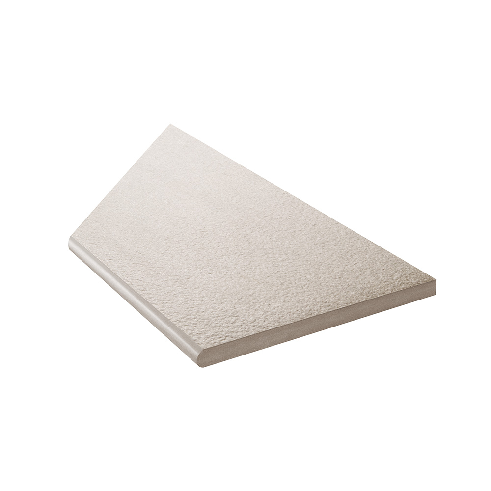 Klinker Bricmate Z Stone Light Grey Inner Corner Right 30x60 cm